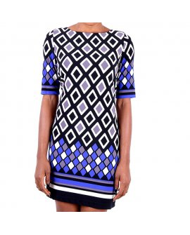 Eliza J Multi Color Shift Dress