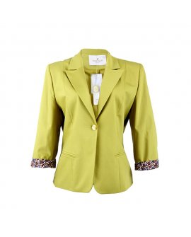 Mode Class Collection Lemon Turn up Jacket