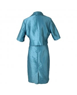 Nina Cole Teal Short Dress and Jacket