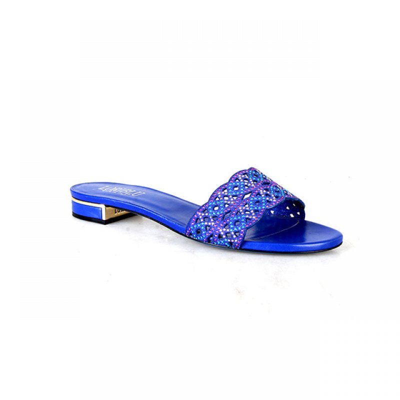 Loriblu Royal Blue Slippers