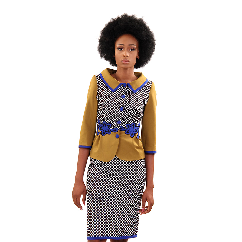 Baracci Two Piece Skirt Suit