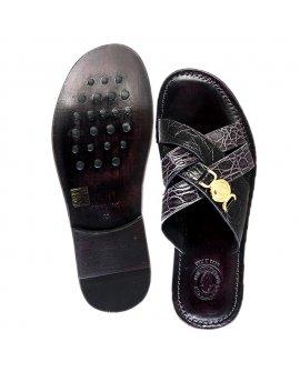 Valentino Orlandis Slippers - Black