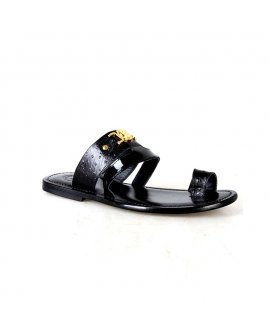 Valentino Orlandis Black Peep Toe