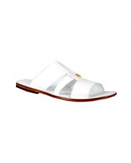 Valentino Orlandis White Slippers